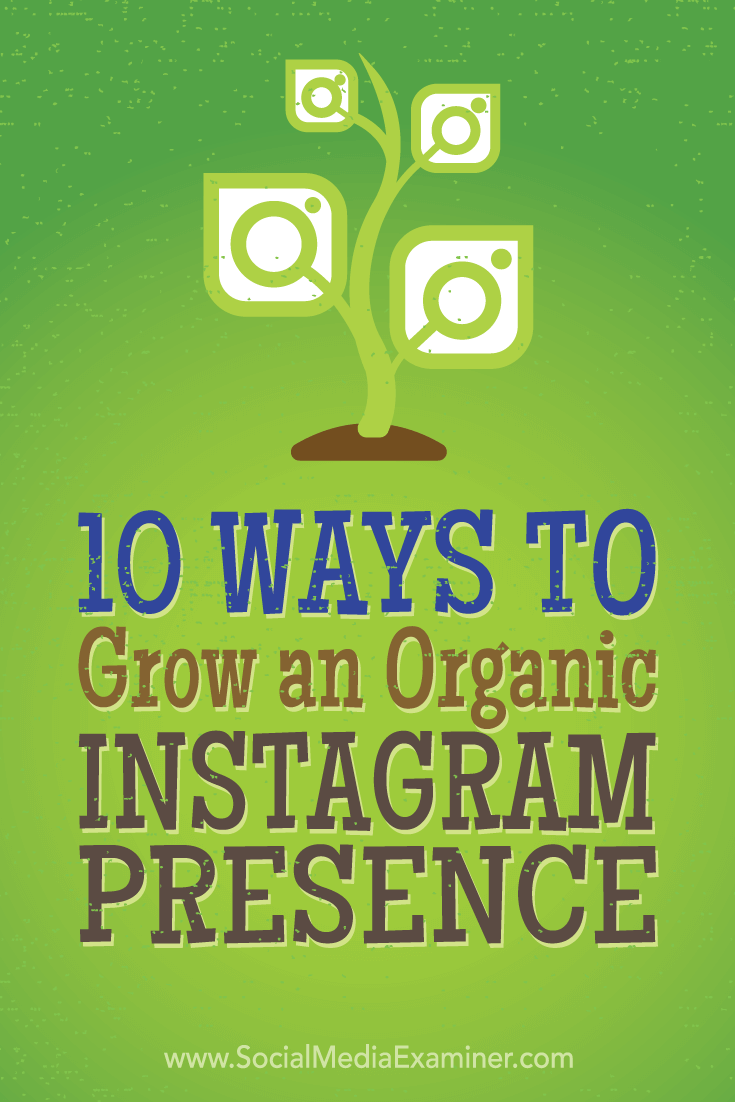 Tips on 10 tactics top marketers have used to organically gain more Instagram followers.