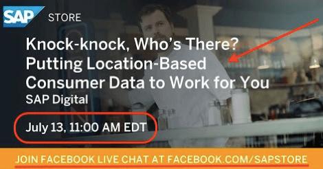 sap store facebook live show
