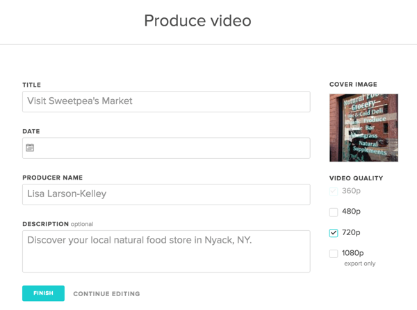 animoto produce video