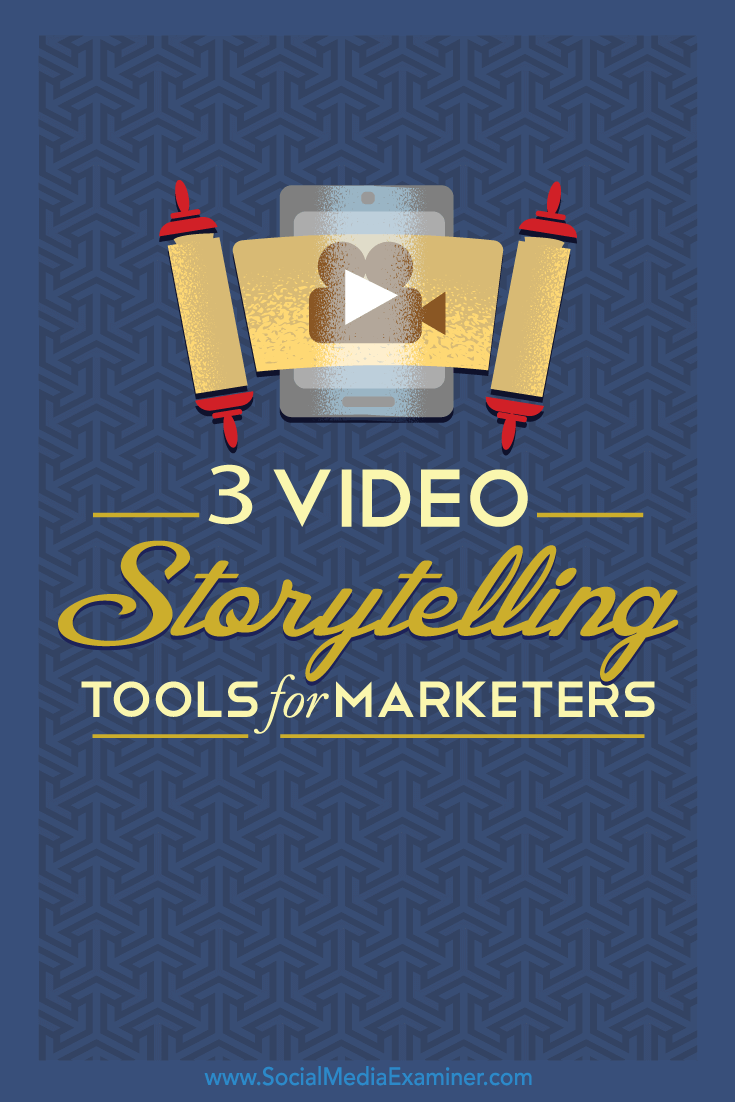 Tips on three tools with step-by-step tutorials to help social marketers create beautiful videos.