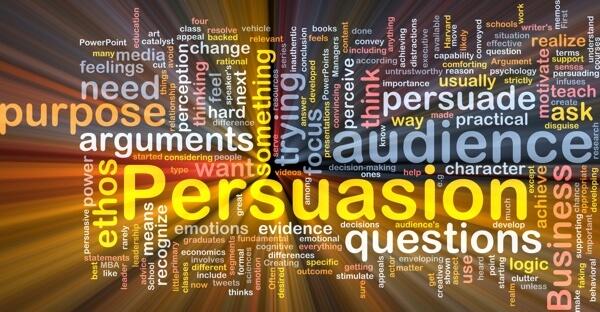 persuasion word cloud