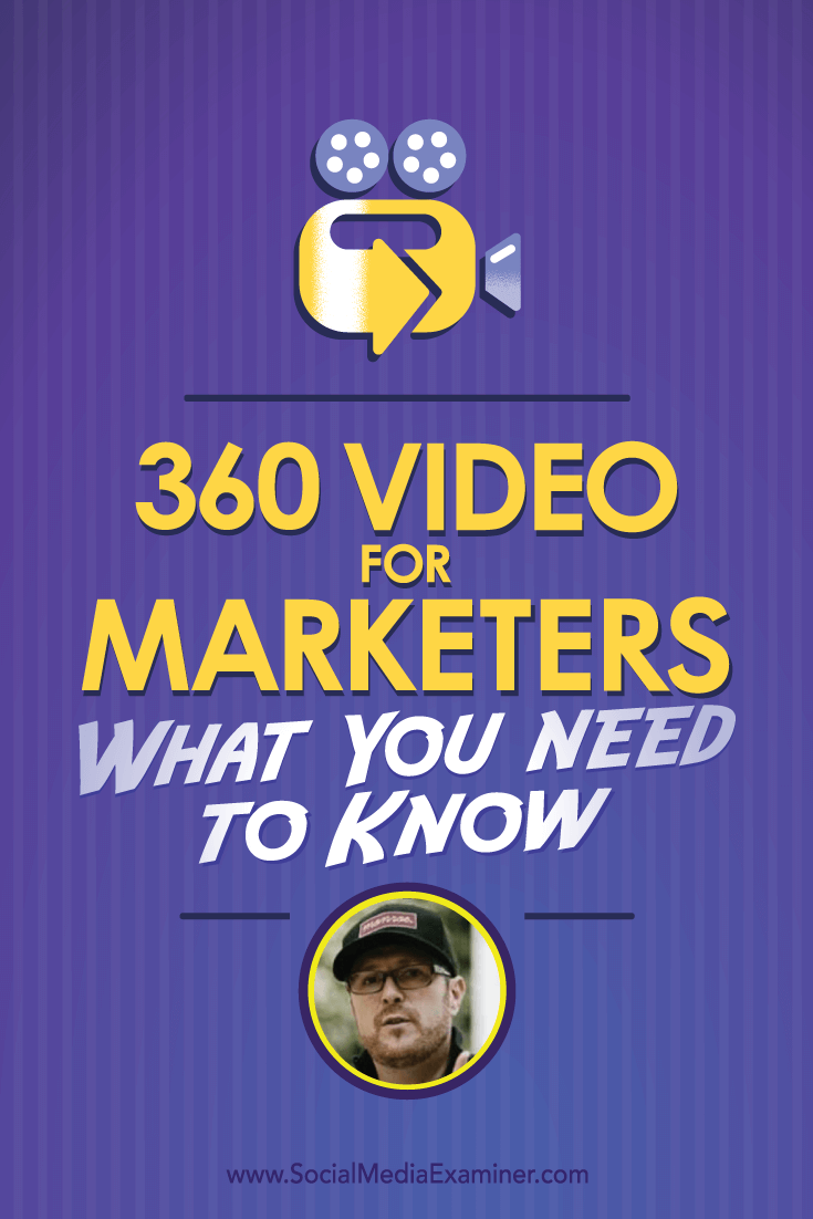 Ryan Anderson Bell talks with Michael Stelzner about 360 Video for marketers and what you need to know.