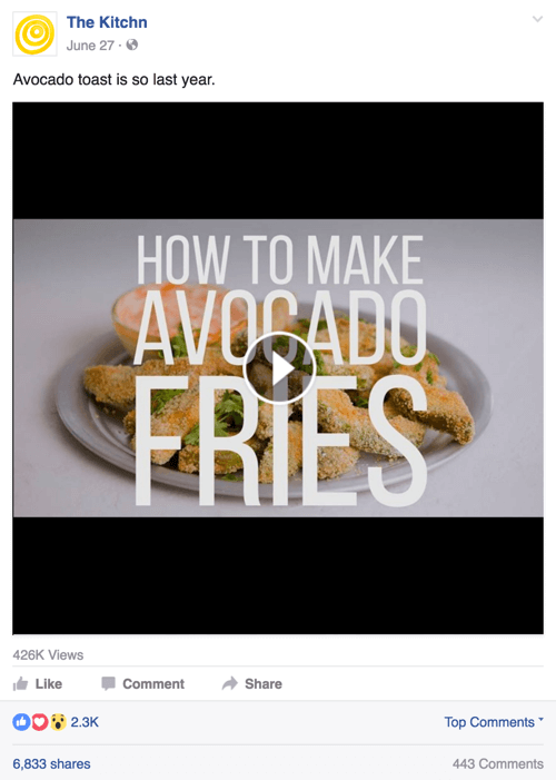 kitchn facebook video