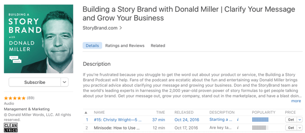 building a story with donald miller