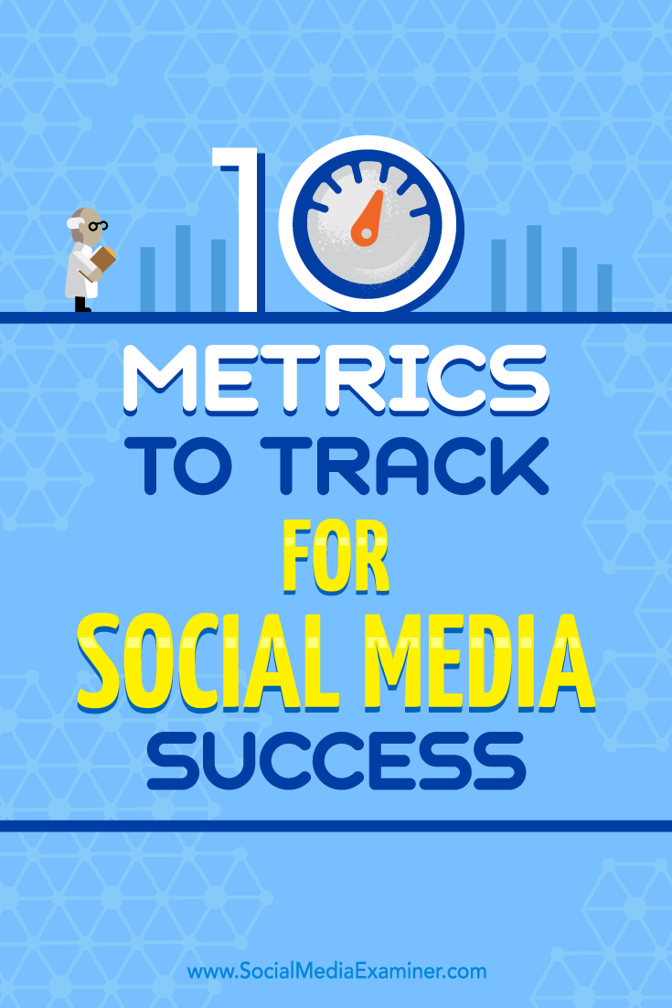 10 Metrics to Track for Social Media Success by Aaron Agius on Social Media Examiner.