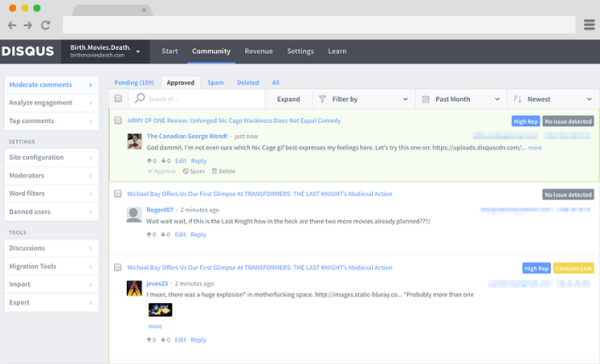 Disqus rolled out a smarter, more powerful moderation panel that reduces the time users spend managing comments.