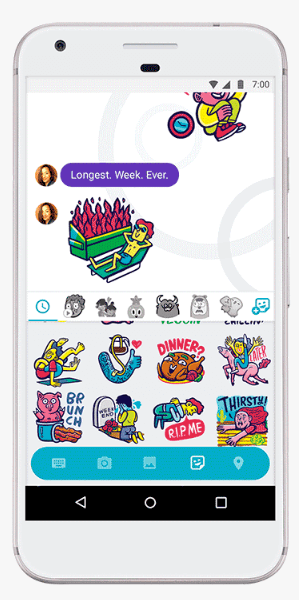 Google unveiled a new sticker pack in Google Allo to help you celebrate all aspects of Thanksgiving.