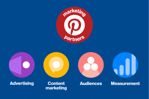 Pinterest expanded its third-party partner network to include two new specialties and changed its name to Marketing Partners.