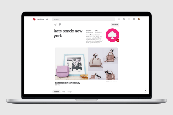 Pinterest announced several updates to its business profiles including a new rotating showcase.