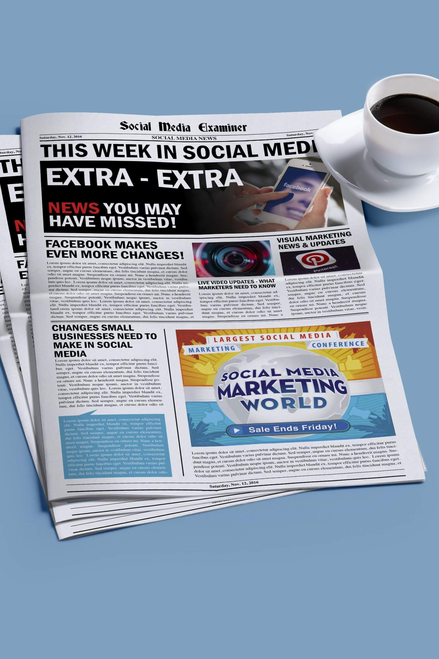 New Features for Instagram Stories and other social media news for Nov. 12, 2016.