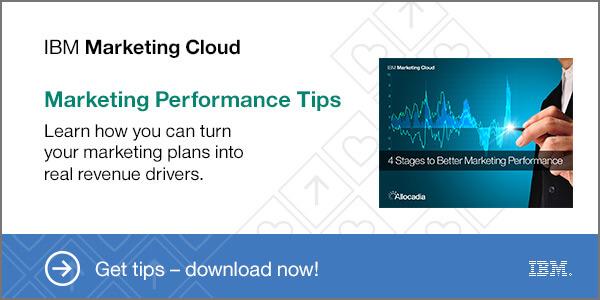 IBM Marketing Cloud Marketing Performance Tips