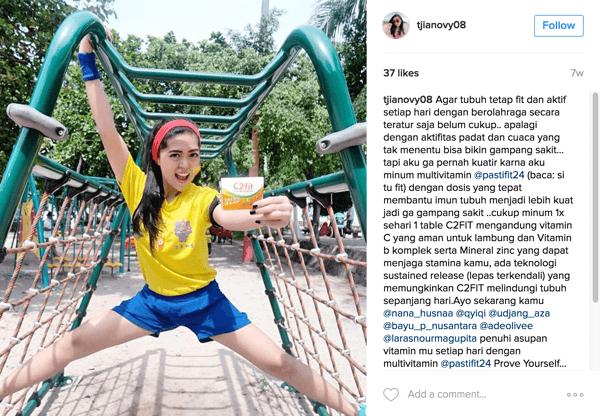 Laden Sie Instagram-Benutzer ein, Fotos mit Ihren Produkten zu veröffentlichen.