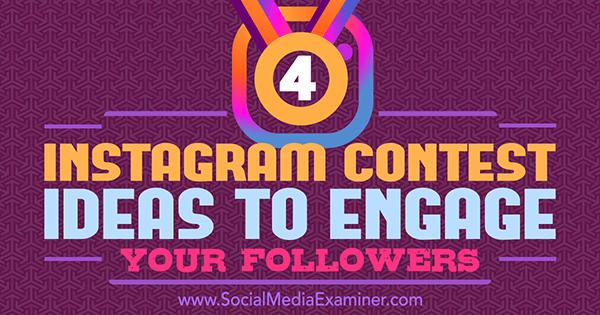 Instagram Contest Ideas