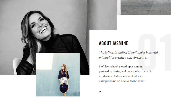 Jasmine Star left law school and pursued a career in photography.