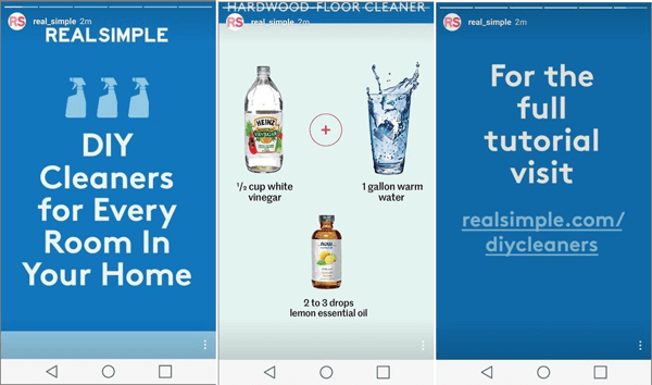 instagram stories real simple