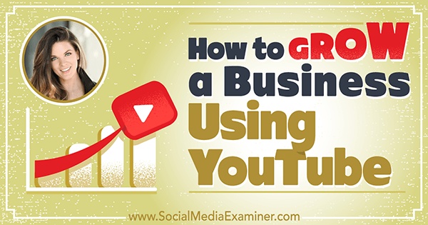 How to Grow a Business Using YouTube featuring insights from Sunny Lenarduzzi on the Social Media Marketing Podcast.