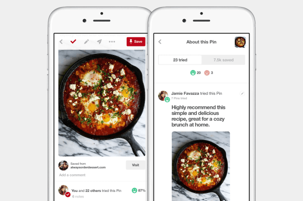 Pinterest announced a new way to discover tried-and-true ideas on its site.