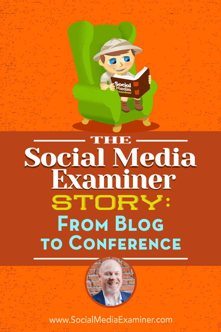 The Social Media Examiner Story: From Blog to Conference featuring insights from Mike Stelzner with interview by Ray Edwards on the Social Media Marketing Podcast.
