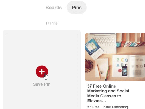 To get more traffic from a popular image post, pin the image to a Pinterest board.