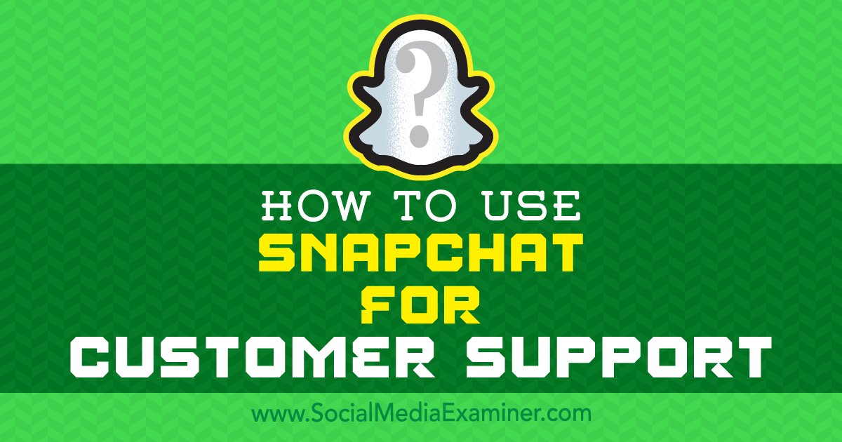 support snapchat