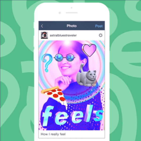 Tumblr rolled out over 100 stickers for your photos and GIFs and a few filters to its iOS and Android apps this week.