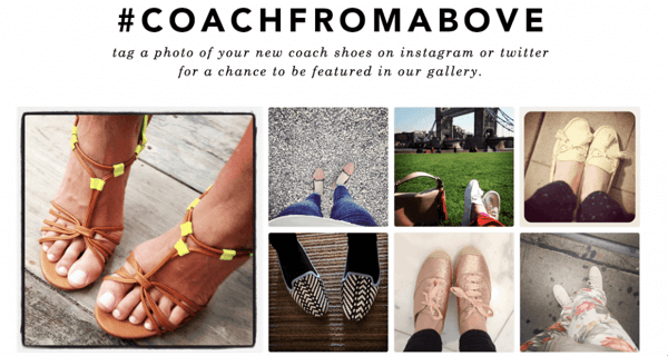 Coach used crowdsourcing to drive engagement and sales.
