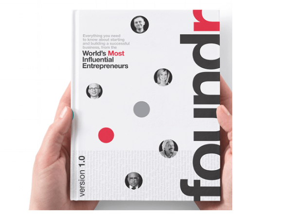 Foundr V1.0 is likely the first book in a series.