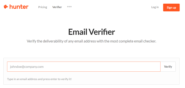 Use a tool, like Hunter, to verify the gatekeeper's email address.