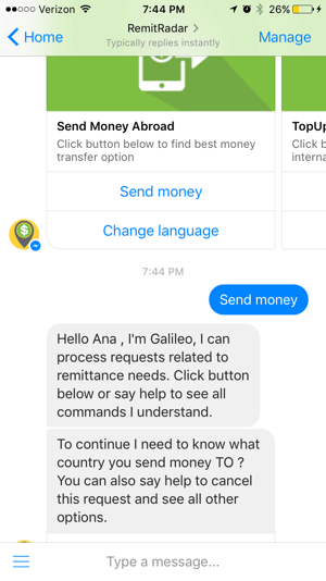 Offering automated services through a chatbot can boost business.