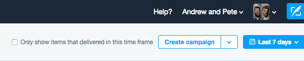 Go to Twitter Ads and click Create Campaign.