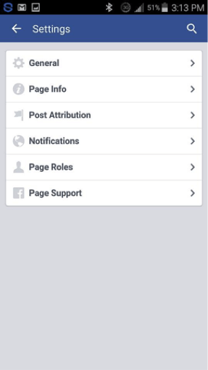 Under Settings, tap General at the top of the page.