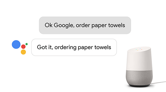 Consumers can now shop from participating Google Express retailers with Google Assistant on Google Home.