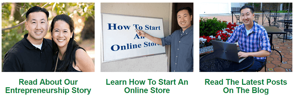 MyWifeQuitHerJob.com documents how to run an online store.
