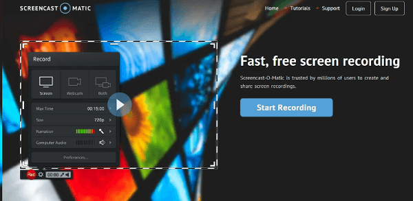 Screencast-O-Matic is an great, inexpensive screencasting alternative.