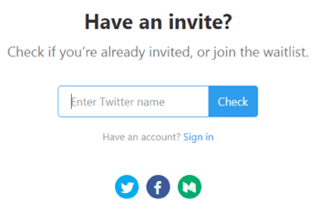 Enter your Twitter handle to see if you're invited to the Refind desktop beta.