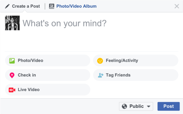 Facebook rolled out the ability to go Live from a desktop or laptop to all users around the world.