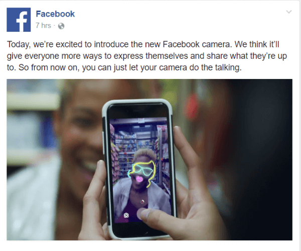 Facebook rolls out Facebook Stories globally.