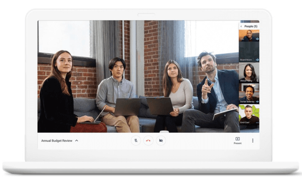 Google is evolving Hangouts to focus on two experiences that help bring teams together and keep work moving forward: Hangouts Meet and Hangouts Chat.