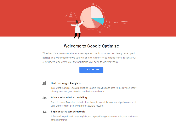 Google announced that Google Optimize is now available for everyone to use in over 180 countries around the world for free.