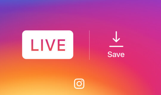 Instagram rolls out ability to save live video to a phone once the broadcast ends.