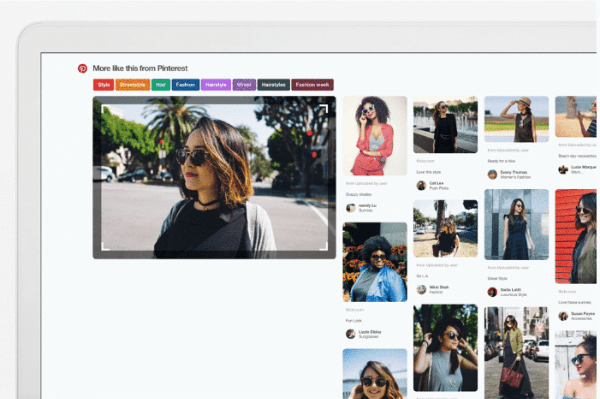 Pinterest built its visual search technology into the Pinterest browser extension for Chrome.