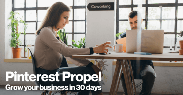 Pinterest created Pinterest Propel, a new program that provides one-on-one marketing support to businesses and agencies that are new to advertising on Pinterest.