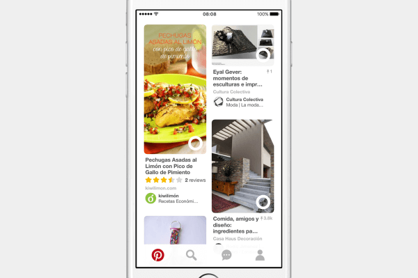 Pinterest launched special features, a new blog, and new Pinterest profiles targeted to Spanish-speaking Pinners.