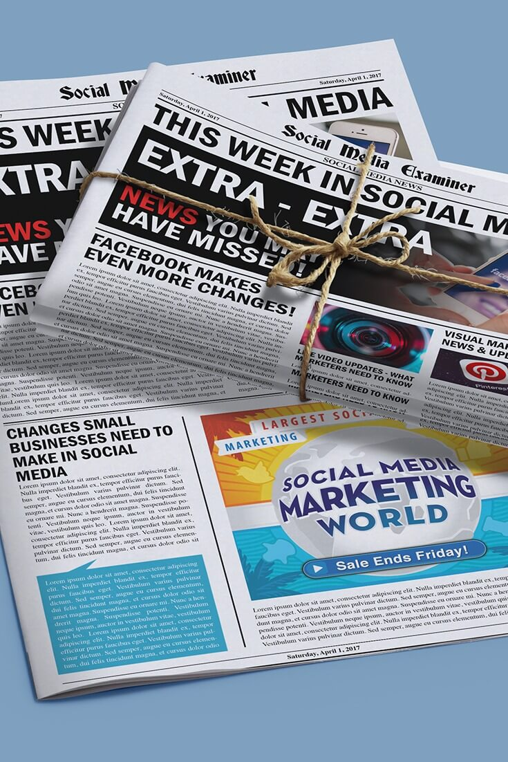 Facebook Stories Launch Globally and other social media news for Apr. 1, 2017.
