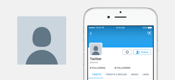 Twitter revealed a new default profile photo for new accounts.