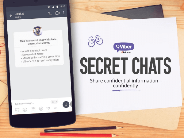 Mobile messaging app, Viber, released a Snapchat-like update to its service called Secret Chats.