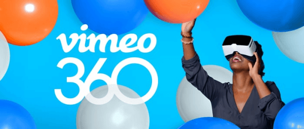 Vimeo adds support for 360-degree videos.