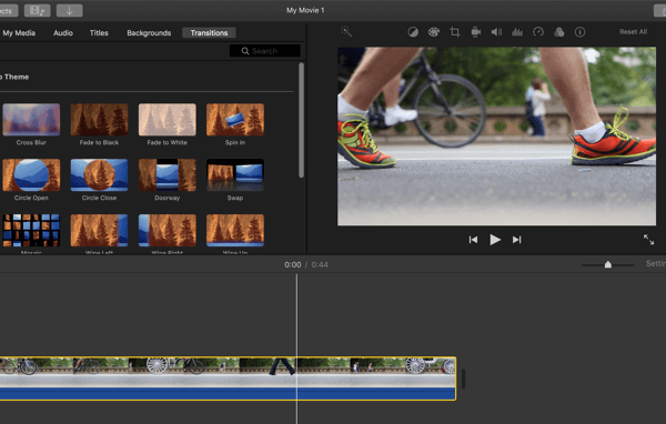 iMovie is an excellent video editing option for beginners.