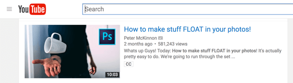 A captivating thumbnail will draw viewers to your YouTube video.