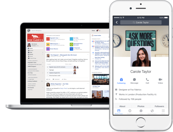 Facebook is introducing a free version of Workplace, its social networking tool for workers to chat and collaborate.